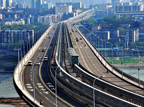 重庆鱼洞长江大桥南引道工程