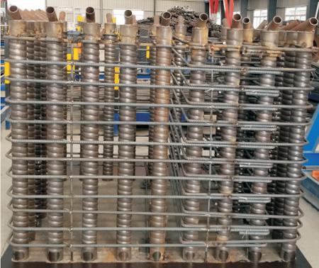 钢筋锚固用灌浆波纹管钢管